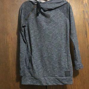 Double Hooded Sweatshirt-Women's Large-&